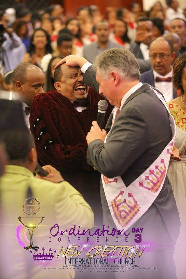 NEw Creation Int Church Ethiopia Ordination