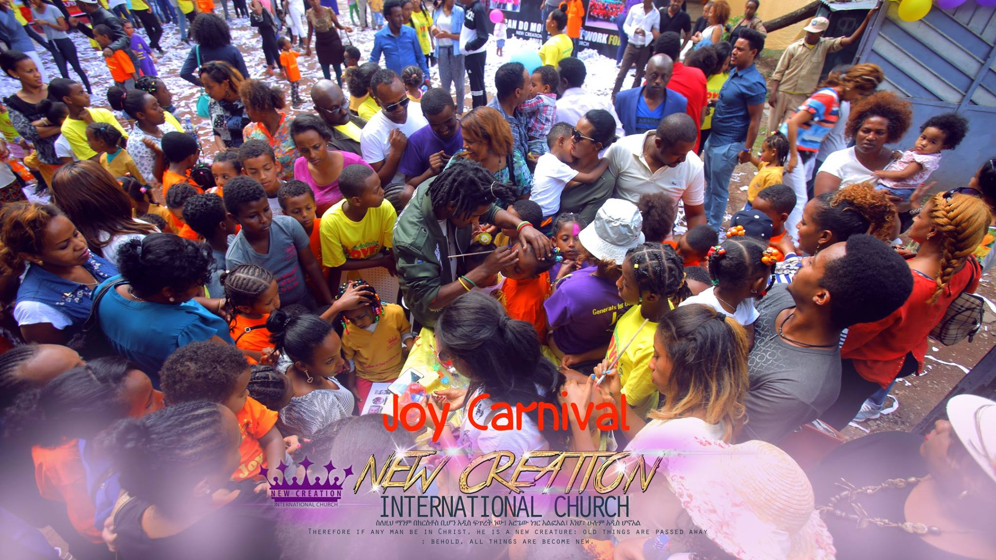 New Creation church Ethiopia Children Ministry Joy Carnival (6)